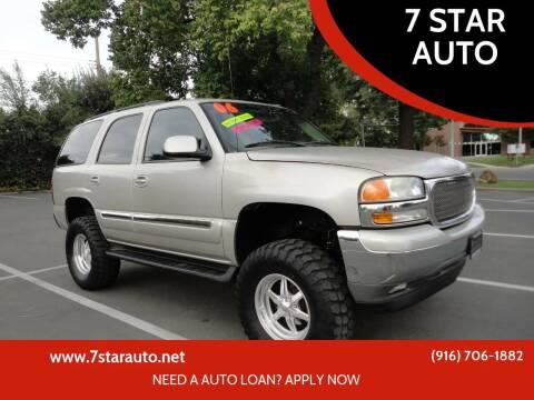 2006 GMC Yukon for sale at 7 STAR AUTO in Sacramento CA