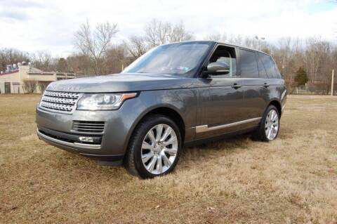 2016 Land Rover Range Rover for sale at New Hope Auto Sales in New Hope PA