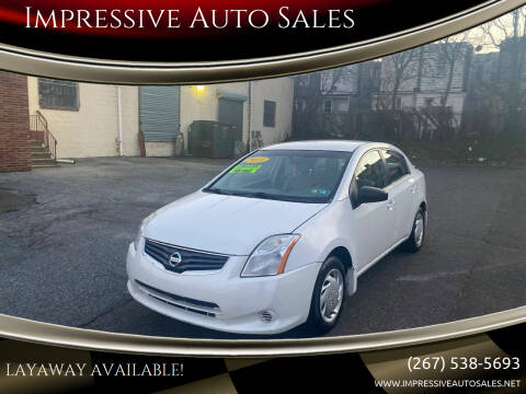2011 Nissan Sentra for sale at Impressive Auto Sales in Philadelphia PA