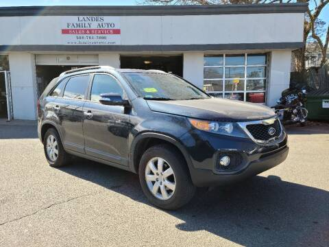 2013 Kia Sorento for sale at Landes Family Auto Sales in Attleboro MA