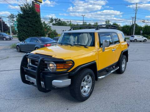2007 Toyota FJ Cruiser for sale at Trust Petroleum in Rockland MA