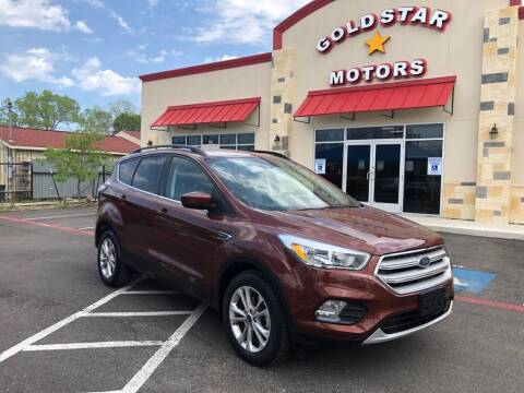2018 Ford Escape for sale at Gold Star Motors Inc. in San Antonio TX