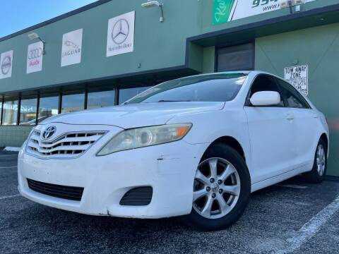2011 Toyota Camry for sale at KARZILLA MOTORS in Oakland Park FL
