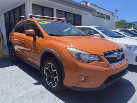 2014 Subaru XV Crosstrek for sale at Mike Auto Sales in West Palm Beach FL
