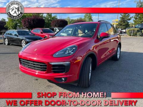 2017 Porsche Cayenne for sale at Auto 206, Inc. in Kent WA