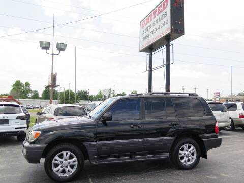 2004 Lexus LX 470 for sale at United Auto Sales in Oklahoma City OK