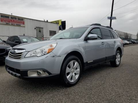2012 Subaru Outback for sale at MENNE AUTO SALES in Hasbrouck Heights NJ