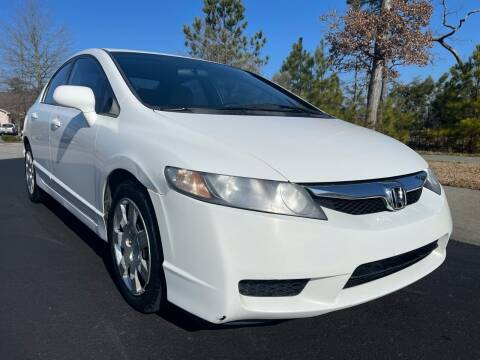 2010 Honda Civic for sale at LA 12 Motors in Durham NC