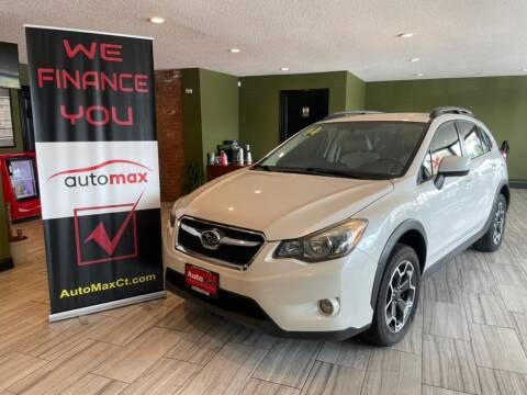 2014 Subaru XV Crosstrek for sale at AutoMax in West Hartford CT