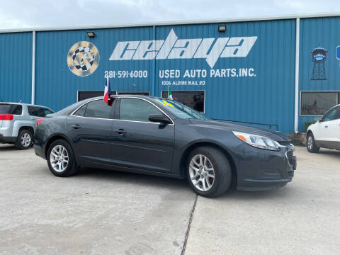 2016 Chevrolet Malibu Limited for sale at CELAYA AUTO SALES INC in Houston TX