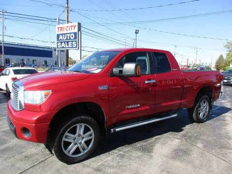 2013 Toyota Tundra for sale at TRI CITY AUTO SALES LLC in Menasha WI
