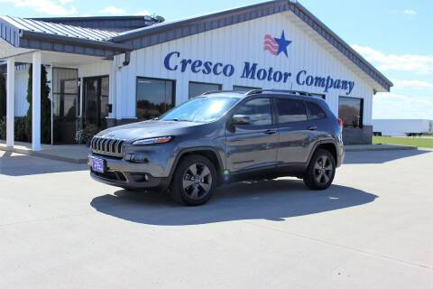 2017 Jeep Cherokee for sale at Cresco Motor Company in Cresco IA