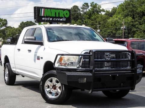 2012 RAM Ram Pickup 2500 for sale at Metro Auto Credit in Smyrna GA