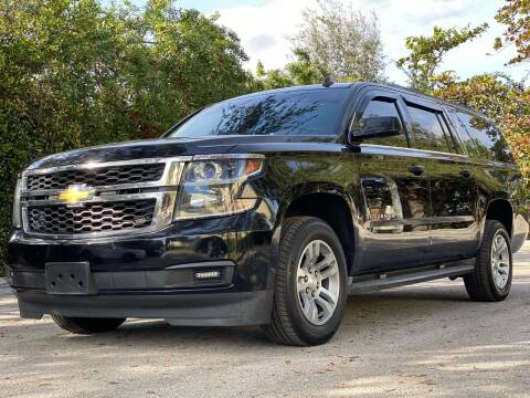 2015 Chevrolet Suburban for sale at HIGH PERFORMANCE MOTORS in Hollywood FL