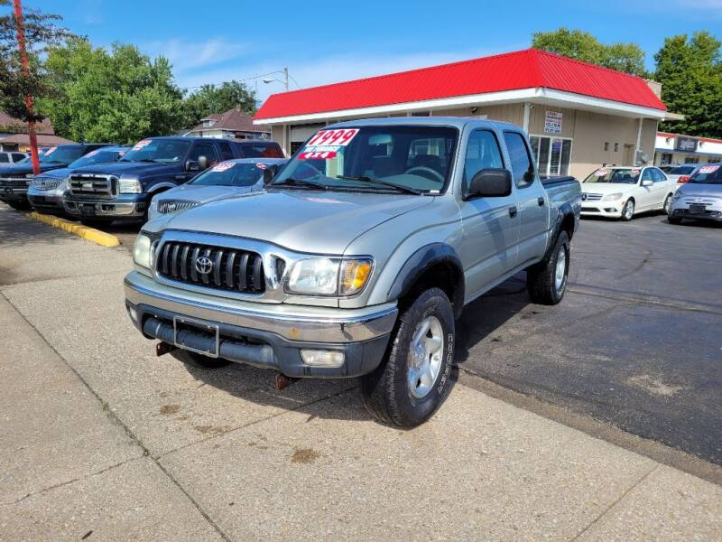 2004 Toyota Tacoma for sale at THE PATRIOT AUTO GROUP LLC in Elkhart IN