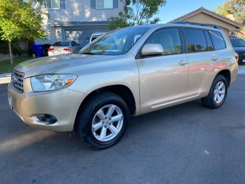 2008 Toyota Highlander for sale at CALIFORNIA AUTO GROUP in San Diego CA