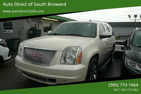 2011 GMC Yukon for sale at Auto Direct of South Broward in Miramar FL