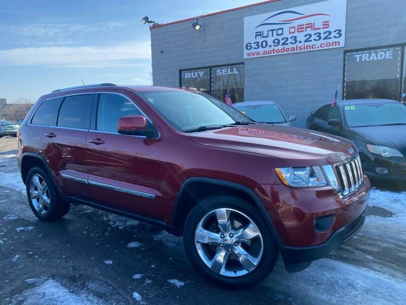 2012 Jeep Grand Cherokee for sale at Auto Deals in Roselle IL