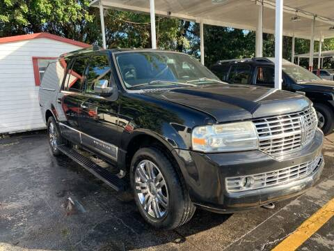 2010 Lincoln Navigator L for sale at America Auto Wholesale Inc in Miami FL