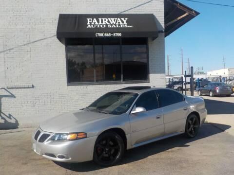 2004 Pontiac Bonneville for sale at FAIRWAY AUTO SALES, INC. in Melrose Park IL
