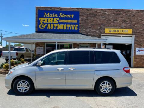 2006 Honda Odyssey for sale at Main Street Auto LLC in King NC