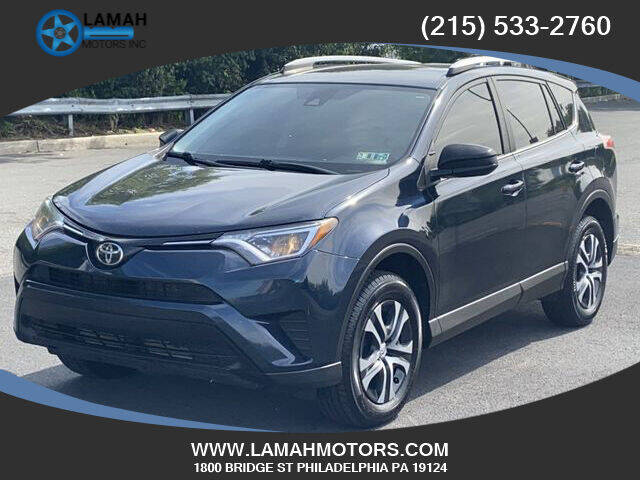 2017 Toyota RAV4 for sale at LAMAH MOTORS INC in Philadelphia PA