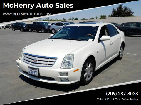 2006 Cadillac STS for sale at McHenry Auto Sales in Modesto CA