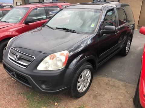 2005 Honda CR-V for sale at City Auto Sales in Sparks NV
