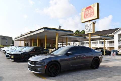 2018 Dodge Charger for sale at Houston Used Auto Sales in Houston TX
