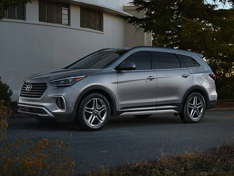 2017 Hyundai Santa Fe for sale at BARRYS Auto Group Inc in Newport RI