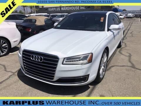 2015 Audi A8 L for sale at Karplus Warehouse in Pacoima CA