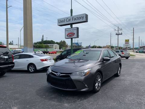 2016 Toyota Camry for sale at Used Car Factory Sales & Service in Bradenton FL