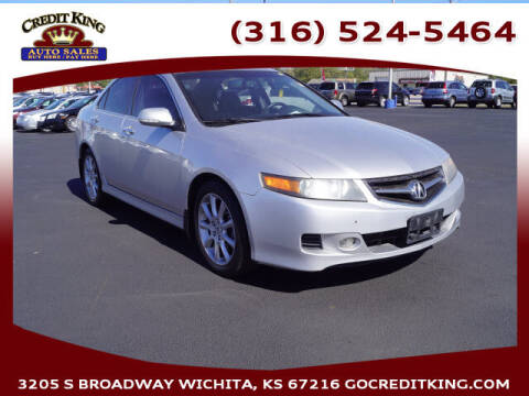2008 Acura TSX for sale at Credit King Auto Sales in Wichita KS