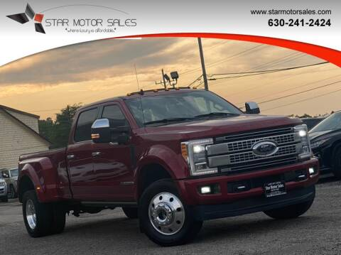 2019 Ford F-450 Super Duty for sale at Star Motor Sales in Downers Grove IL