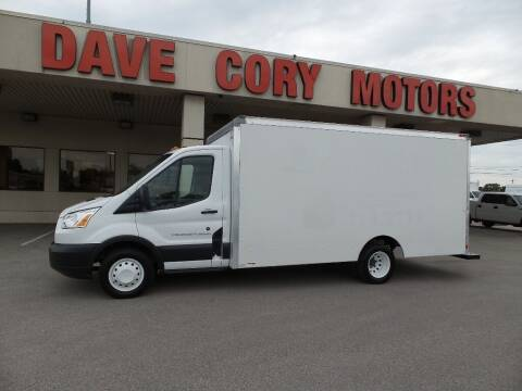 2016 Ford Transit Cutaway for sale at DAVE CORY MOTORS in Houston TX