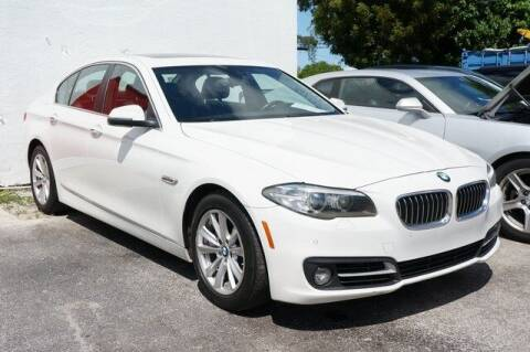 2015 BMW 5 Series for sale at Michael's Auto Sales Corp in Hollywood FL