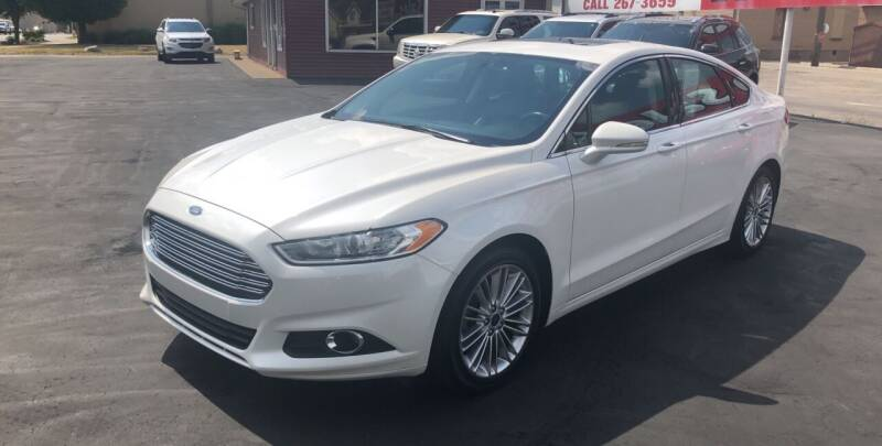 2016 Ford Fusion for sale at N & J Auto Sales in Warsaw IN