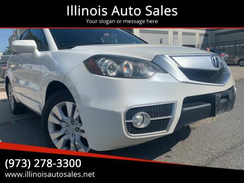 2010 Acura RDX for sale at Illinois Auto Sales in Paterson NJ
