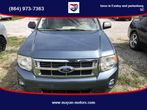 2011 Ford Escape for sale at Mayan Motors Easley in Easley SC