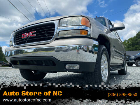 2006 GMC Yukon for sale at Auto Store of NC in Walkertown NC
