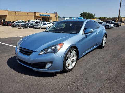 2010 Hyundai Genesis Coupe for sale at Image Auto Sales in Dallas TX