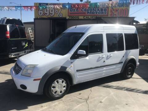 2013 Ford Transit Connect for sale at DEL CORONADO MOTORS in Phoenix AZ