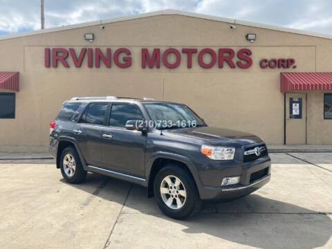 2013 Toyota 4Runner for sale at Irving Motors Corp in San Antonio TX