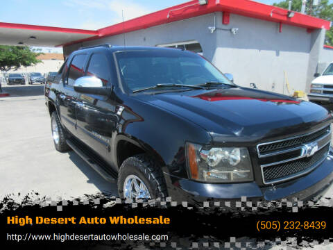 2007 Chevrolet Avalanche for sale at High Desert Auto Wholesale in Albuquerque NM