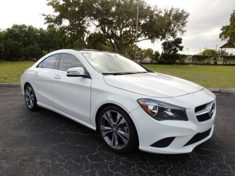 2016 Mercedes-Benz CLA for sale at SUPER DEAL MOTORS 441 in Hollywood FL
