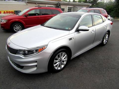 2017 Kia Optima for sale at American Auto Group Now in Maple Shade NJ