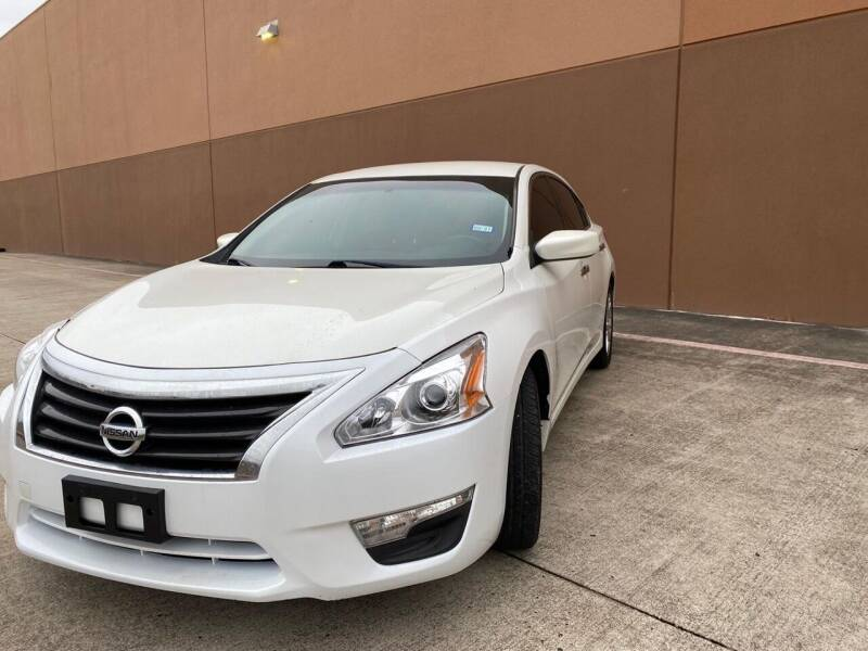 2013 Nissan Altima for sale at ALL STAR MOTORS INC in Houston TX