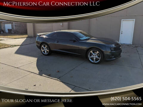 2013 Chevrolet Camaro for sale at McPherson Car Connection LLC in Mcpherson KS