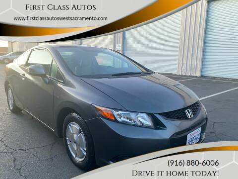 2012 Honda Civic for sale at Car Source Center in West Sacramento CA