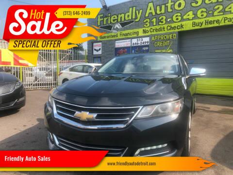 2014 Chevrolet Impala for sale at Friendly Auto Sales in Detroit MI